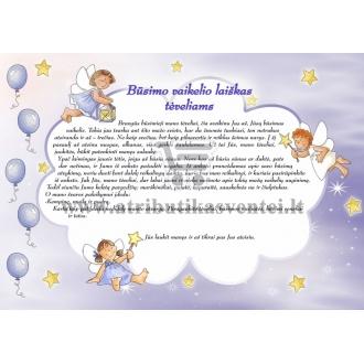 Būsimo vaikelio laiškas