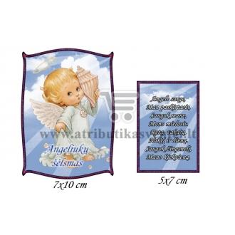 """Etiketė """"Angeliukų šėlsmas"""""""