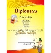 """Diplomas """"Alučio mėgėjas"""""""