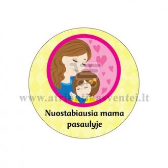 """Ženkliukas """"Nuostabiausia mama pasaulyje"""""""