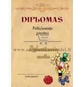 """Diplomas """"Linksmiausias svečias"""""""