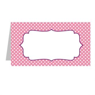 """Stalo kortelė """"Rožinė"""""""