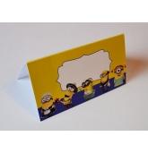 "Stalo kortelė ""Minions"""