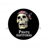"""Ženkliukas """"Piratų kapitonas"""""""