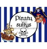 """Etiketė """"Piratų sultys"""""""