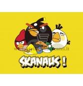"""Etiketė """"Angry Birds"""""""