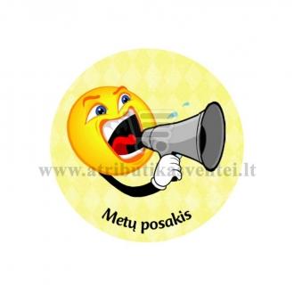 """Ženkliukas-nominacija """"Metų posakis"""""""
