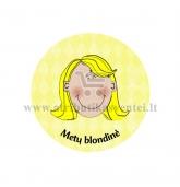 """Ženkliukas-nominacija """"Metų blondinė"""""""