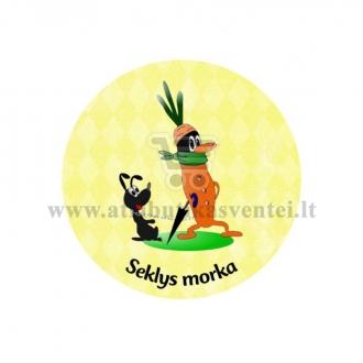 """Ženkliukas-nominacija """"Seklys morka"""""""