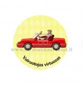 """Ženkliukas-nominacija """"Vairuotojas virtuozas"""""""