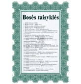 Bosės taisyklės