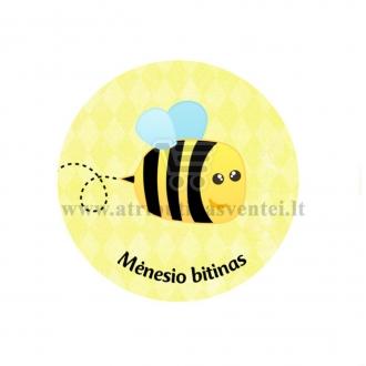 """Ženkliukas-nominacija """"Mėnesio bitinas"""""""