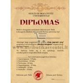 Idealios merginos diplomas