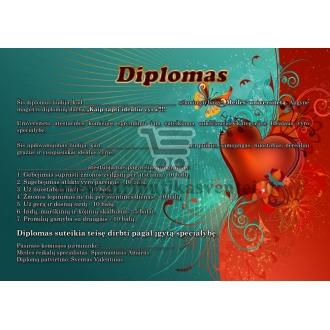 Meilės diplomas (vyrui)