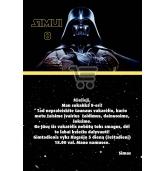 """Kvietimai """"Star wars""""-10 vnt"""