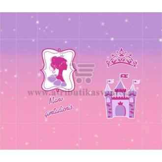 Saldainių popieriukai 15 vnt - Princesės puota