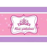 """Etiketė """"Mano gimtadienis"""" Princesės puota"""