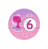 """Ženkliukas """"Mano gimtadienis"""" Princesės puota 6m."""