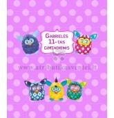 """Saldainių popierėliai 15 vnt - """"Mažieji Furbiai"""""""