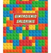"""Saldainių popieriukai 15 vnt """"Lego"""""""
