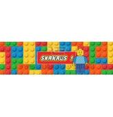 """Gėrimo etiketė """"Lego"""""""