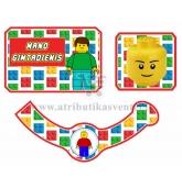 "Šampano etiketė ""Lego"""