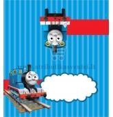 """Stalo kortelė """"Traukinukas Tomas"""""""