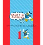 Saldainių popierėliai 15 vnt - Ančiukas Donaldas