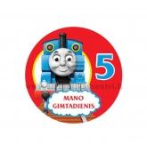 """Ženkliukas """"Mano gimtadienis"""" Traukinukas Tomas 5m."""