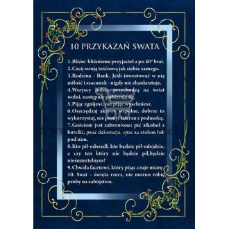 10 Przykazań swata