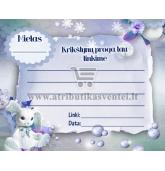 Palinkėjimų kortelė (berniukui)