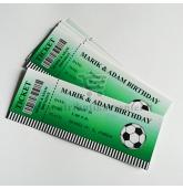 """Kvietimas-bilietas """"Futbolas""""-10 vnt"""