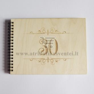 """Palinkėjimų knyga """"30"""""""