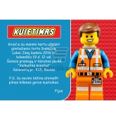 "Kvietimai ""Lego gimtadienis""-10 vnt"