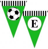 """Popierinė vėliavėlių girlianda """"Futbolas"""""""