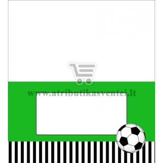 """Stalo kortelė """"Futbolas"""""""