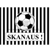 """Etiketė """"Skanaus"""" - Futbolas"""