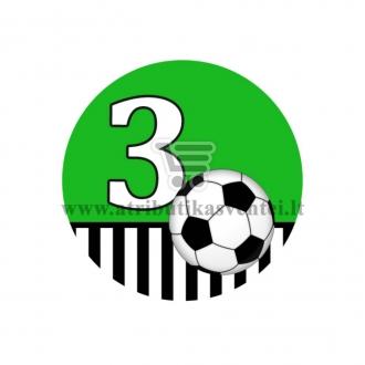 Gimtadienio ženkliukas - Futbolas 3m.