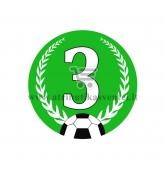 Ženkliukas 3-os vietos laimėtojui  - Futbolas