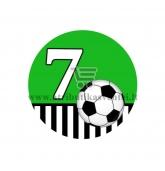 Gimtadienio ženkliukas - Futbolas 7m.