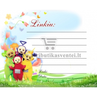 Palinkėjimų kortelė