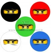 "Lipdukai ""Lego Ninjago"" - 10 vnt"