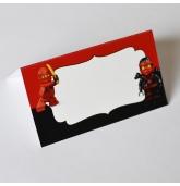 """Stalo kortelė """"Lego Ninjago"""""""