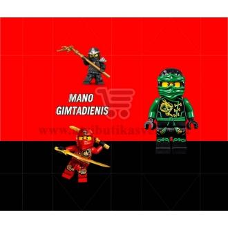 "Saldainių popieriukai 15 vnt ""Lego Ninjago"""