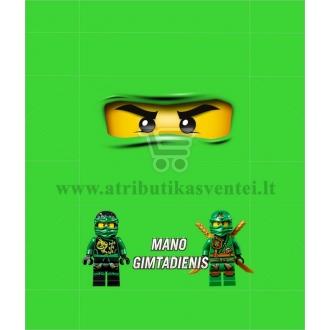 """Saldainių popieriukai 15 vnt """"Lego Ninjago"""" Žalia"""