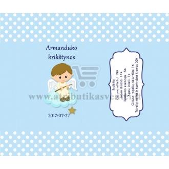 Saldainių popierėliai 15 vnt, Angeliukas  (žydra)