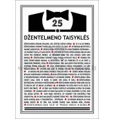 25 džentelmeno taisyklės