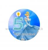 """Ženkliukas """"Mano gimtadienis"""" Princesė 5m."""