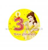 """Ženkliukas """"Mano gimtadienis"""" Princesė 3m."""