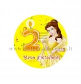 """Ženkliukas """"Mano gimtadienis"""" Princesė 2m."""